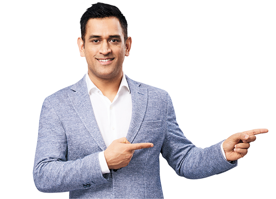 MS Dhoni Exide Life Insurance